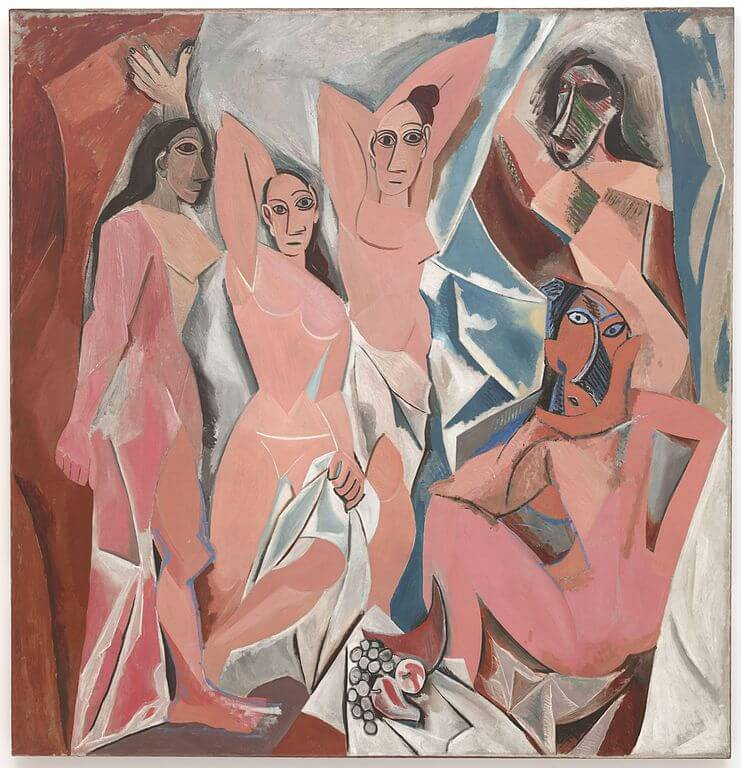 Hotass Catalan girls scared the bejesus out of Picasso.