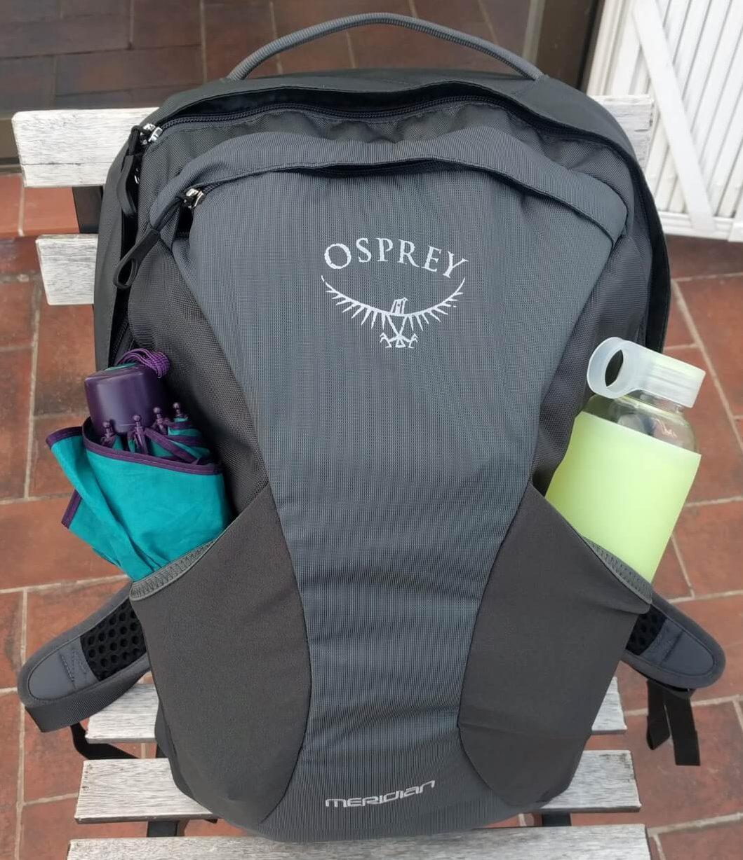 superieure kwaliteit bespaar uiterst stijlvol How much stuff fits in the Osprey Meridian daypacks ...