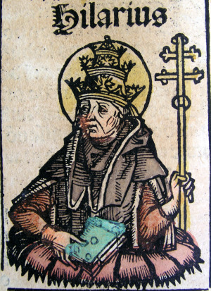Saint Hilary, who died in 468, has probably received more prayers for endless drinking than for anything else.